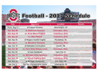 2017 Football Schedule Magnet Pins, Magnets & Keychains