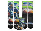Seattle Seahawks For Bare Feet NFL City Star Player Crew Socks Apparel & Accessories