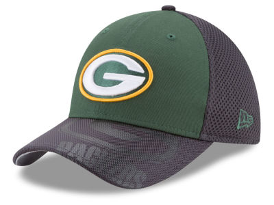 fa025a71 Green Bay Packers New Era NFL Visor Hit 39THIRTY Cap
