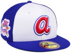 Atlanta Braves New Era MLB Ultimate Patch Collection Anniversary 59FIFTY Cap Fitted Hats