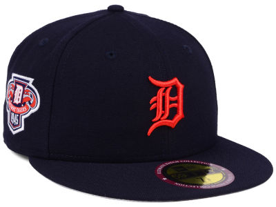 Detroit Tigers MLB Ultimate Patch Collection Anniversary 59FIFTY Cap Hats