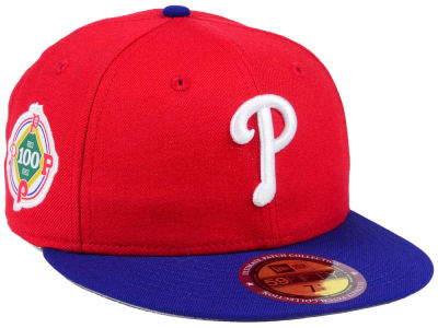 Philadelphia Phillies MLB Ultimate Patch Collection Anniversary 59FIFTY Cap Hats