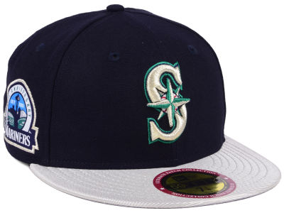 Seattle Mariners MLB Ultimate Patch Collection Anniversary 59FIFTY Cap Hats