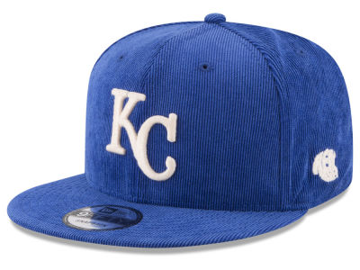 Kansas City Royals MLB All Cooperstown Corduroy 9FIFTY Snapback Cap Hats