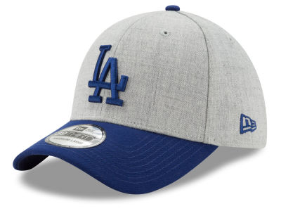 Los Angeles Dodgers MLB Heather Classic 39THIRTY Cap Hats