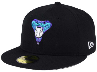 Arizona Diamondbacks MLB Black Cooperstown 59FIFTY Cap Hats