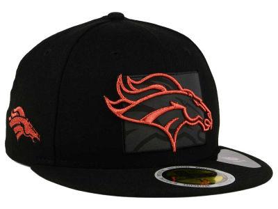Denver Broncos New Era NFL State Flective Metallic 59FIFTY Cap ... 96667ce7aac
