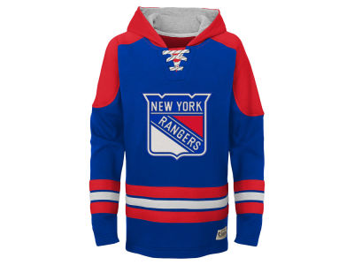 New York Rangers Outerstuff Nhl Youth Legendary Hoodie