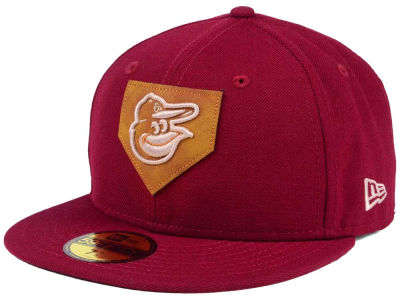 Baltimore Orioles MLB The Logo of Leather 59FIFTY Cap Hats
