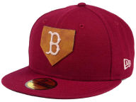 New Era MLB The Logo of Leather 59FIFTY Cap Fitted Hats