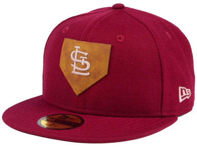 St. Louis Cardinals MLB The Logo of Leather 59FIFTY Cap Hats