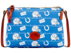 Indianapolis Colts Dooney & Bourke Nylon Crossbody Pouchette Apparel & Accessories