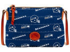 Seattle Seahawks Dooney & Bourke Nylon Crossbody Pouchette Apparel & Accessories