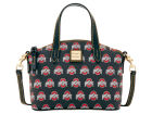 Ohio State Buckeyes Dooney & Bourke Ruby Mini Satchel Crossbody Luggage, Backpacks & Bags