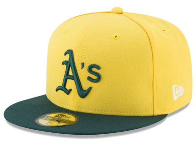 Oakland Athletics 2017 MLB Players Weekend 59FIFTY Cap Hats