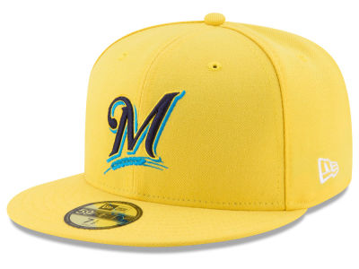 Milwaukee Brewers 2017 MLB Players Weekend Kids 59FIFTY Cap Hats