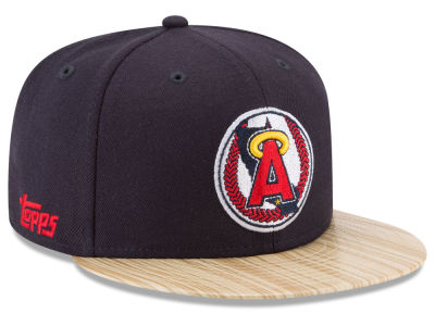 Los Angeles Angels MLB X Topps 1987 9FIFTY Snapback Cap Hats