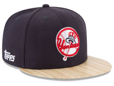 New York Yankees MLB X Topps 1987 9FIFTY Snapback Cap Hats
