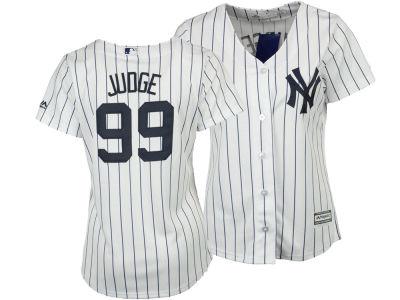 New York Yankees Aaron Judge Majestic MLB Women s Cool Base Player Replica  Jersey  547ca54ddf