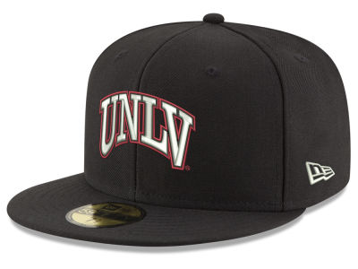 UNLV Runnin Rebels NCAA Shadow 59FIFTY Cap Hats