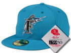 Florida Marlins New Era MLB Retro Classic 59FIFTY Cap Fitted Hats