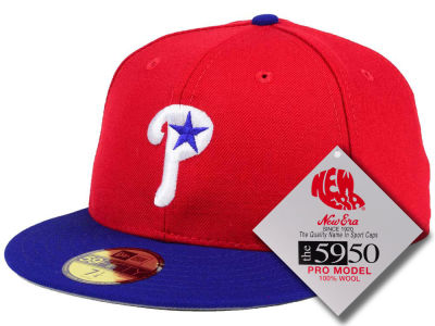 Philadelphia Phillies MLB Retro Classic 59FIFTY Cap Hats