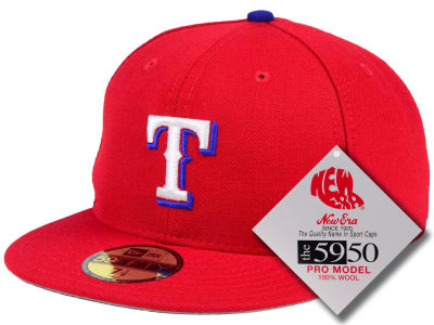 Texas Rangers MLB Retro Classic 59FIFTY Cap Hats