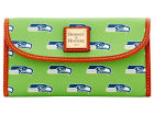 Seattle Seahawks Dooney & Bourke Large Dooney & Bourke Continental Clutch Luggage, Backpacks & Bags