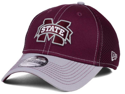 Mississippi State Bulldogs NCAA 2Tone Neo 39THIRTY Cap Hats