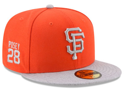 San Francisco Giants Buster Posey MLB Player Designed Collection 59FIFTY Cap Hats
