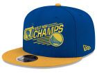 Golden State Warriors New Era 2017 NBA 2Tone Champ 9FIFTY Snapback Cap Hats