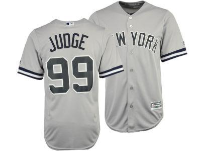 New York Yankees Aaron Judge Majestic MLB Men s Player Replica Cool Base  Jersey  be4ba290d23