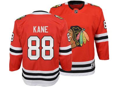 8b49f0e36 Chicago Blackhawks Patrick Kane NHL Branded NHL Youth Premier Player Jersey
