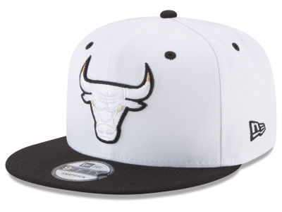 Chicago Bulls New Era NBA Double Twist 9FIFTY Snapback Cap  585c555f7cd