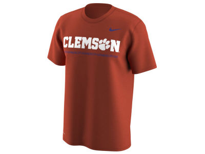 Nike Men's Clemson Tigers Fresh Trainer Hook T-Shirt RnjmLNJHN