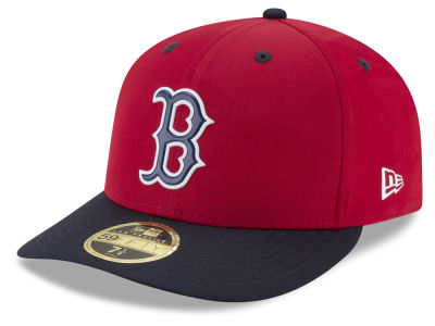Boston Red Sox New Era MLB Batting Practice Prolight Low Profile 59FIFTY Cap   abfcc48e37a