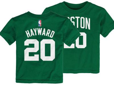 Boston Celtics Gordon Hayward Nike NBA Toddler Replica Name and Number T- Shirt  bfca1a54f