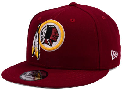 Washington Redskins New Era NFL Team Color Basic 9FIFTY Snapback Cap ... be46690332d
