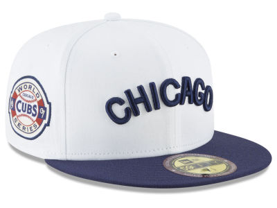 0e942655382 Chicago Cubs New Era MLB Ultimate Patch Collection World Series 2.0 59FIFTY  Cap