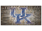 Kentucky Wildcats 6x12 Heritage Wood College Sign Bed & Bath