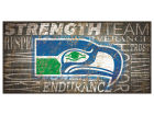 Seattle Seahawks 6x12 Heritage Wood College Sign Bed & Bath