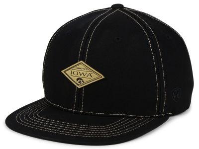 brand new d5cbb b3335 ... real iowa hawkeyes top of the world ncaa diamonds snapback cap lids  77caf 06c7a