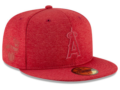 low priced 5baf8 9e892 ... discount code for los angeles angels new era 2018 mlb clubhouse 59fifty  cap lids adaa4 fe00d