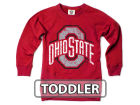Ohio State Buckeyes NCAA Toddler Girls Crossover Sweatshirt Sweatshirts