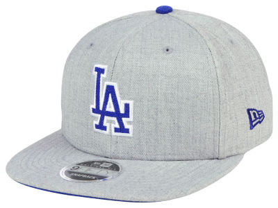 factory price separation shoes biggest discount Los Angeles Dodgers New Era MLB Heather Hype 9FIFTY Snapback Cap ...