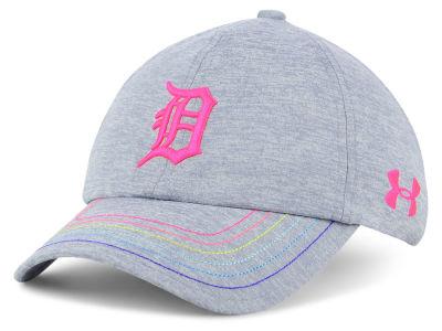 cheap for discount 6272a 1143e ... adjustable hat 19.99 detroit tigers 0b0a4 3cece  wholesale detroit  tigers under armour mlb girls renegade twist cap lids 2fa79 e10fe