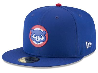 Chicago Cubs New Era MLB Kids Batting Practice Prolight 59FIFTY Cap ... 7be148f54dd