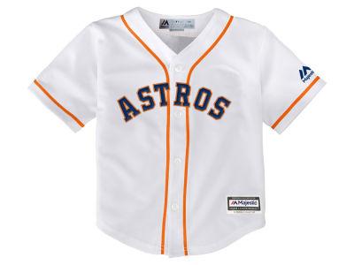 09ae6a397cb Houston Astros Majestic MLB Kids Blank Replica Cool Base Jersey
