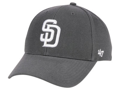 buy online 784e2 9027b ... cheapest san diego padres 47 mlb charcoal 47 mvp cap lids ee997 5effd