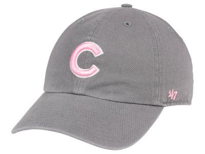 Chicago Cubs  47 MLB Dark Gray Pink  47 CLEAN UP Cap  17978a5796a